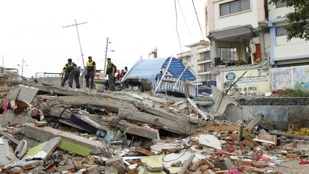 Terremoto Ecuador. Foto Reuters